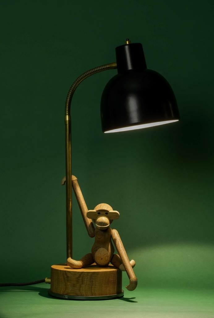 M2 Bordlampe Eg/Messin